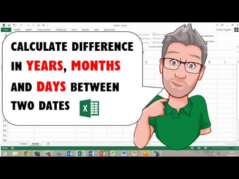 Calculate Difference in Years, Months and Days between Two Dates