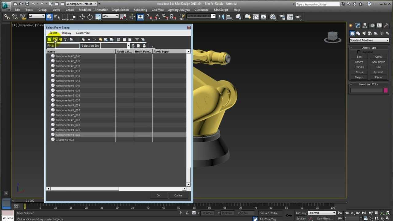3dsmax sketchup import youtube for Sketchup import