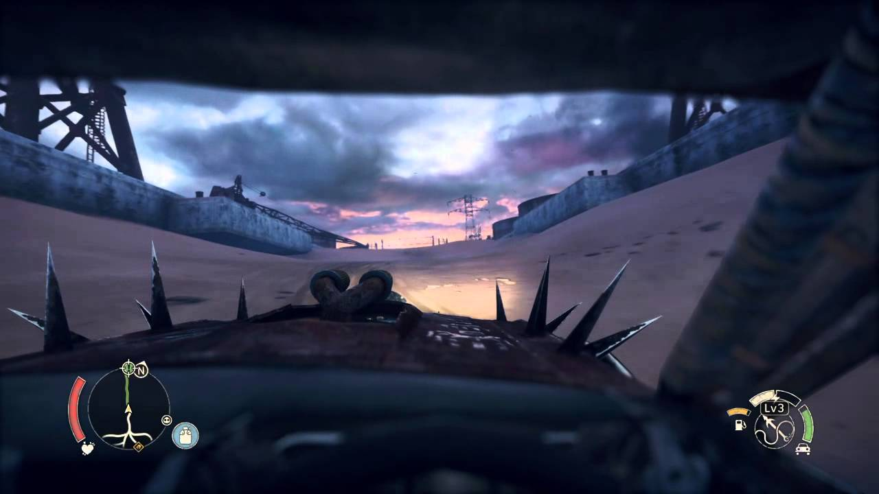 mad max ps4 pov first person view driving