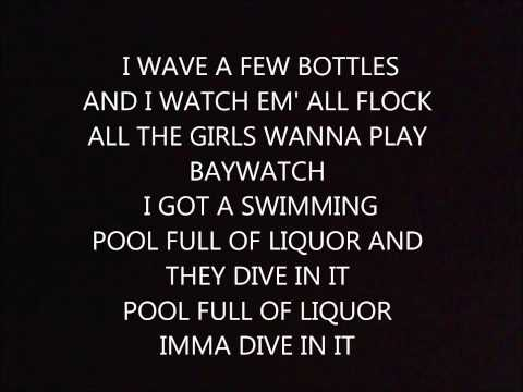 Kendrick Lamar   swimming pools drank (lyrics)