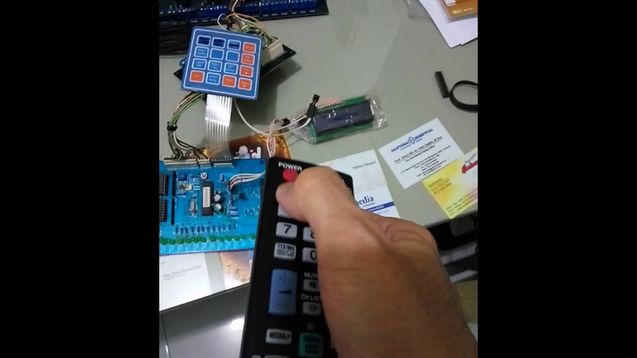 Pcb Complex With Remote Control Youtube Videoke Machine Wiring