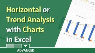 Horizonal or Trend Analysis in Excel by Chris Menard