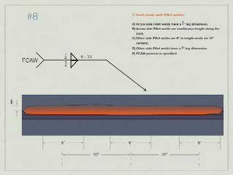Welding blueprint reading problem 8 youtube welding blueprint reading problem 8 malvernweather Choice Image