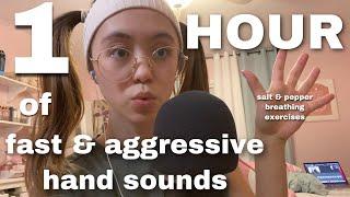 ASMR   1 Hour Of Fast & Aggressive Hand Sounds