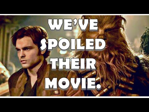 DISNEY STAR WARS shill journalists know my channel is CORRECT about SOYLO: A STAR WARS STORY!!