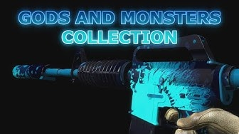 CS GO Skin Collection - Gods and Monsters