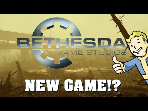 NEW BETHESDA GAME!?