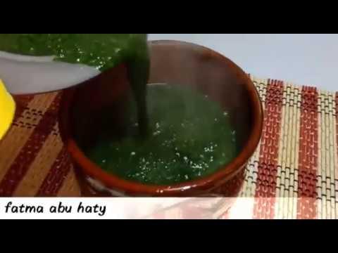 الملوخيه الخطيييره بكل تكاتها  من مطبخ فاطمه ابو حاتي