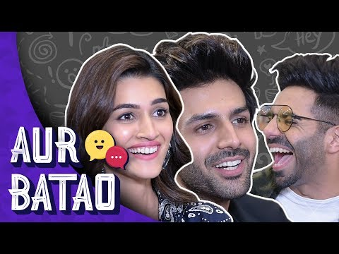 Kartik Aryan talks about Sara Ali Khan, relationship status || LUKA CHUPPI INTERVIEW from YouTube · Duration:  13 minutes 49 seconds