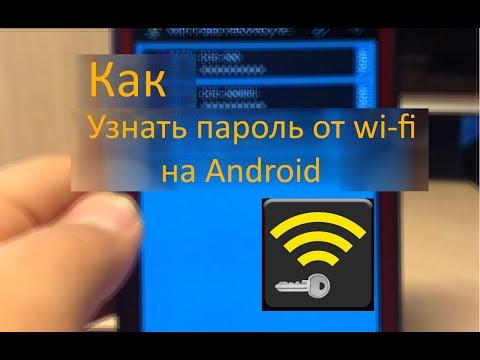 Как узнать пароль от Wi-Fi на Android.