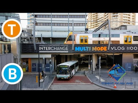 Transport for NSW Vlog No.1100 Chatswood Multi Mode