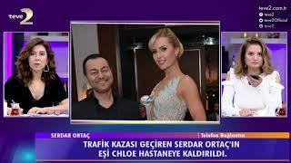 2. Sayfa: Serdar Ortaç'ın eşi Chloe trafik kazası geçirdi!