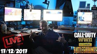 PUBG Test XboxOne + COD WW2 ✔️ En live avec Clem! ✔️