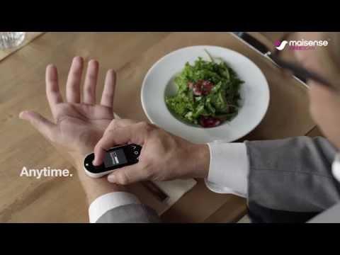 Maisense Freescan Cuffless Blood Pressure Monitor