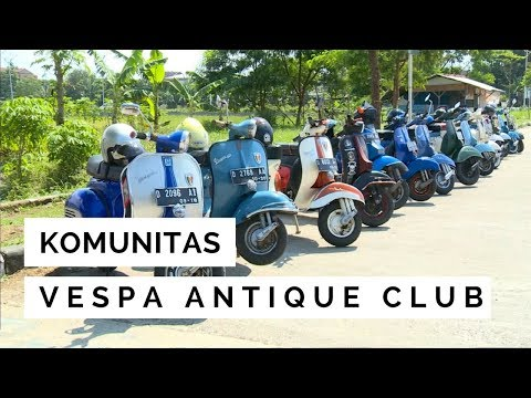 NET JABAR - KOMUNITAS VESPA ANTIQUE CLUB
