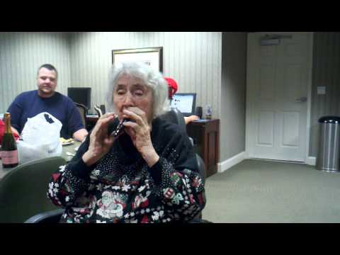 Grandma Guse plays the tonette! Love her so much!