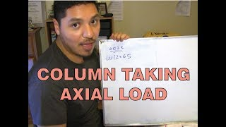 Column Taking Axial Load: Design Example