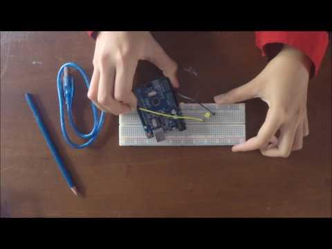 Membuat LED kedap-kedip dengan Arduino Uno [Starter Kit Eldukit]