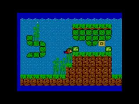 Segazilla Alex Kidd Complete Walkthrough In Miracle World With