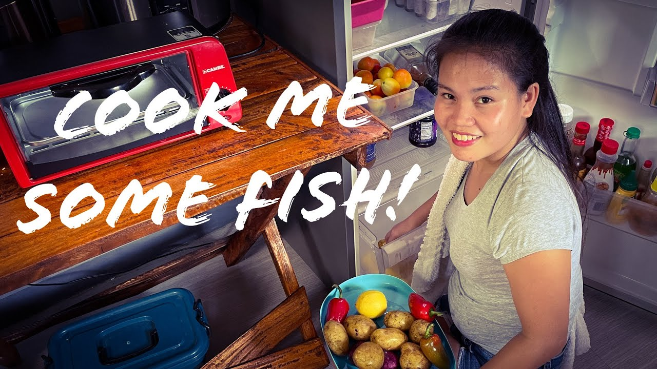 #Filipina Wife #1 Wants Me to Fry 4 Bait Fish in My Beloved Lodge 3.2 Quart #CastIron Combo Cooker!