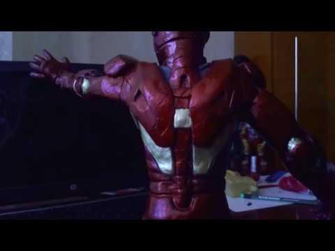 Железный Человек IRON MAN из пластилина