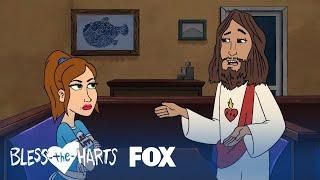 Jesus Tells Jenny He Loves Her  Season 1 Ep 3  BLESS THE HARTS