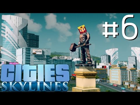 Cities Skylines Let's Play: Part 6 ►Biff-Ore & Biff-Oil◄ (Gameplay & Tutorial 1080p 60fps)