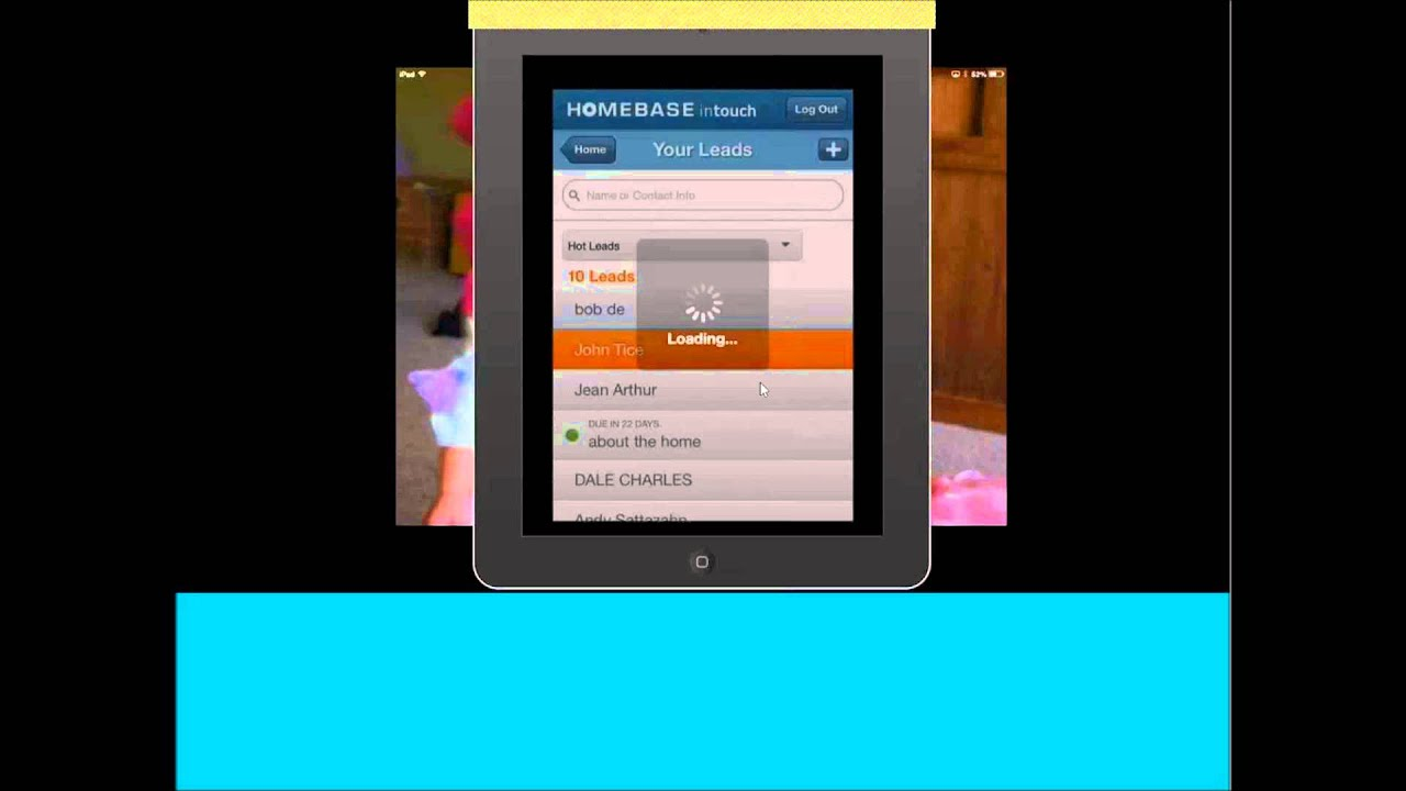 Homebase In Touch APP YouTube