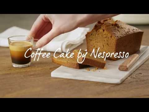 Nespresso Recipe | Coffee Cake