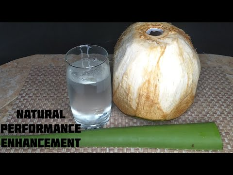 ALOE VERA AND COCONUT WATER DETOX/ NATURAL PERFORMANCE ENCHANTMENT FOR MEN/ BOOST SEXDRIVE NATURALLY
