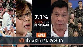 Rodrigo Duterte, PH economy, United States | 6PM wRap