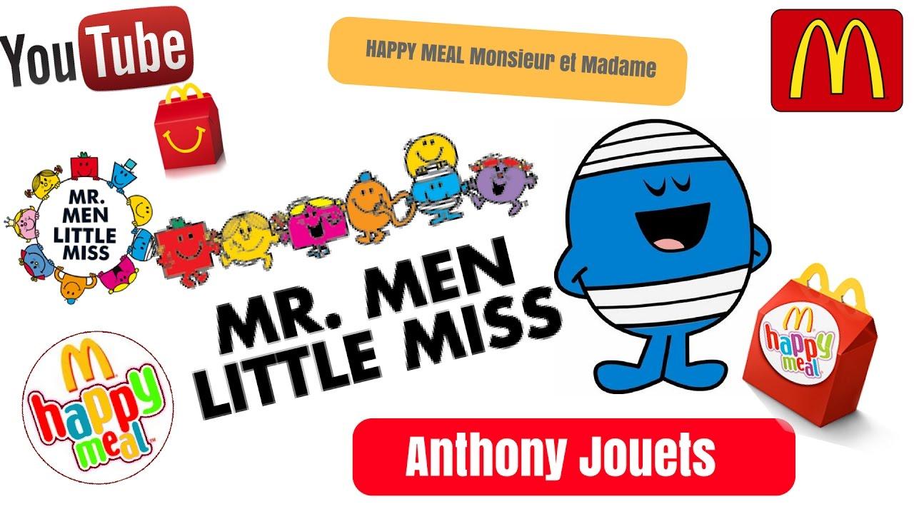 Monsieur Mcdonalds Happy Madame Et Meal Jouet Ancien XPkZiu