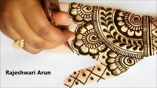 Simple bridal mehndi design for fullhands * easy fullhand mehndi henna designs for eid *latest henna