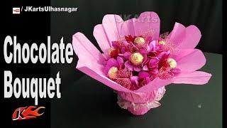 Diy Chocolate Bouquet Valentine S Day Gift Idea Jk Arts 1351