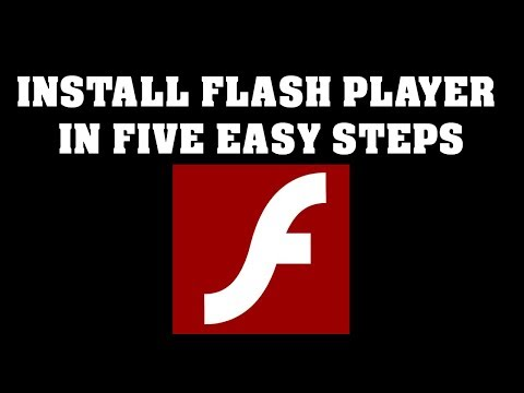 Install Flash Player In Five Easy Steps
