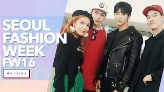 서울패션위크 Vlog | Seoul Fashion Week FW16 with Mutzine