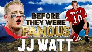 JJ WATT - Before They Were Famous - Defensive Player Of The Year