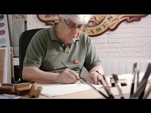 Caligrafía para un Ex Libris - Un curso de Ricardo Rousselot, Diseñador y Calígrafo