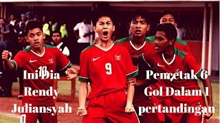 Kumpulan Gol - Gol Rendy Juliansyah l Timnas Indonesia u16