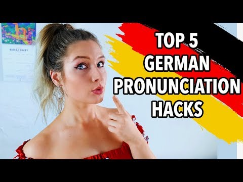 5 MUST KNOW GERMAN PRONUNCIATION HACKS