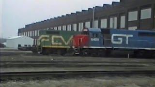 Trains of Battle Creek - March 6 1992