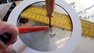 фрезер и кольца, как правильно фрезеровать кольца для динамиков СВОИМИ РУКАМИ
