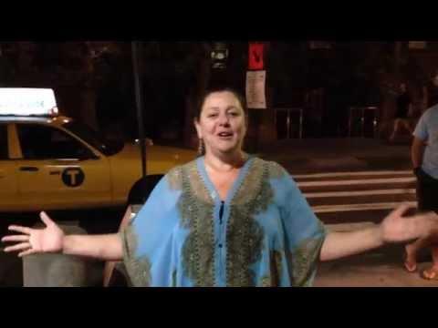 Camryn Manheim ALS Ice Bucket Challenge, with Gloria Steinem, Kathy Najimy
