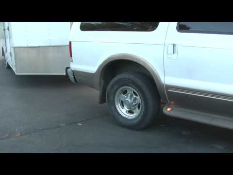 Sweet Sounding Straightpiped 7.3 Turbo Diesel Ford Excursion
