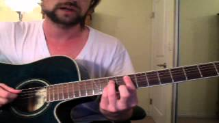 Guitar Lesson: Substituting Major Chord Shapes for Power Chords