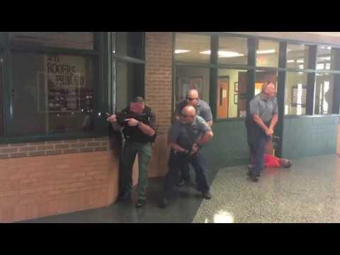Hawkins County (TN) practices active shooter scenario
