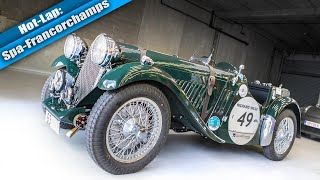 RAW Sound - 1934 Singer Le Mans Hot Lap! // RSRSpa Spotlight 16