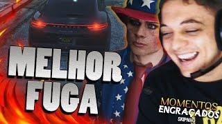 O JEITO MAIS LOUCO DE FUGIR DA CADEIA GTA - GTA V ROLEPLAY #6