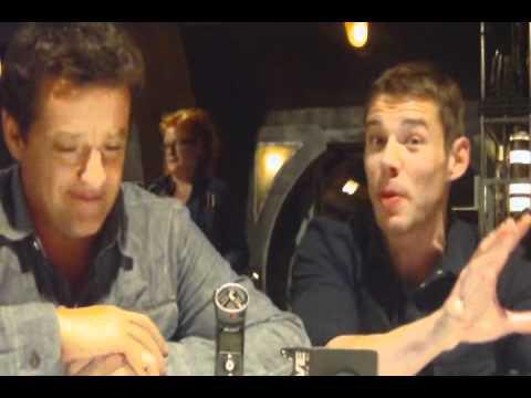 Brian J. Smith and Louis Ferreira on 'Stargate Universe' Season 2