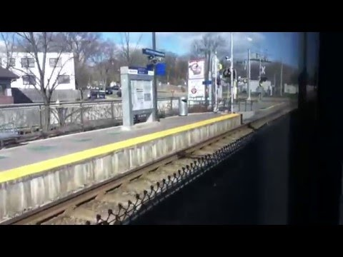 METRO Blue Line Light Rail Mall of America Station to Target Field Station Full Ride 4/11/16 HD